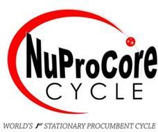 NUPROCORE CYCLE WORLD'S 1ST PROCUREMENT CYCLE