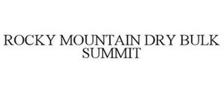 ROCKY MOUNTAIN DRY BULK SUMMIT