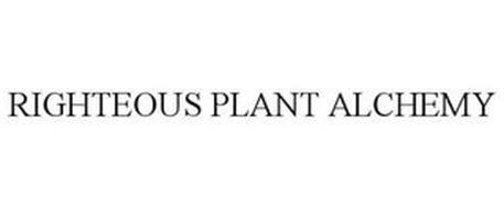 RIGHTEOUS PLANT ALCHEMY