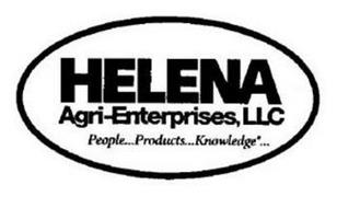 HELENA AGRI-ENTERPRISES, LLC PEOPLE PRODUCTS KNOWLEDGE