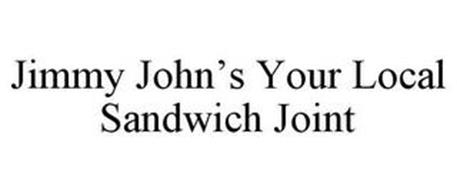 JIMMY JOHN'S YOUR LOCAL SANDWICH JOINT