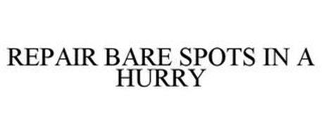 REPAIR BARE SPOTS IN A HURRY