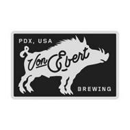 PDX, USA VON EBERT BREWING