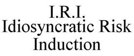 I.R.I. IDIOSYNCRATIC RISK INDUCTION