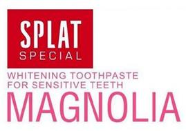 SPLAT SPECIAL WHITENING TOOTHPASTE FOR SENSITIVE TEETH MAGNOLIA