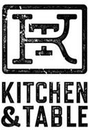 KT KITCHEN & TABLE