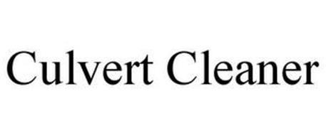 CULVERT CLEANER