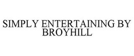 SIMPLY ENTERTAINING BY BROYHILL