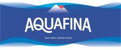 AQUAFINA PURE WATER, PERFECT TASTE