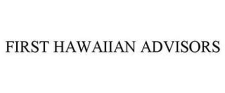 FIRST HAWAIIAN ADVISORS