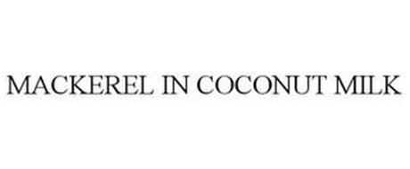 MACKEREL IN COCONUT MILK