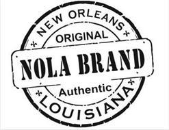 NOLA BRAND NEW ORLEANS ORIGINAL AUTHENTIC LOUISIANA
