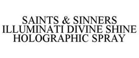 SAINTS & SINNERS ILLUMINATI DIVINE SHINE HOLOGRAPHIC SPRAY