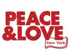 PEACE & LOVE NEW YORK
