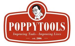 POPPYTOOLS IMPROVING TOOLS IMPROVING LIVES EST. 2006