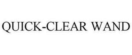QUICK-CLEAR WAND