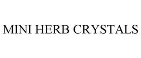 MINI HERB CRYSTALS