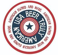 TRULY AMERICAN USA BEER AMERICAN OWNED AND MADE