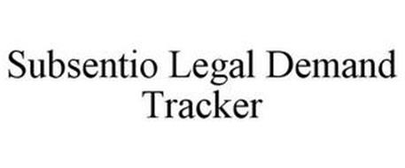 SUBSENTIO LEGAL DEMAND TRACKER