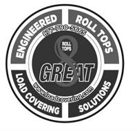 GREAT 8 ROLL TOPS ENGINEERED ROLL TOPS LOAD COVERING SOLUTIONS 877-790-5665 WWW.LOADCOVERING.COM