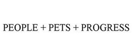 PEOPLE + PETS + PROGRESS