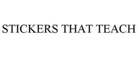 STICKERS THAT TEACH