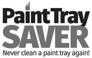 PAINT TRAY SAVER NEVER CLEAN A PAINT TRAY AGAIN!