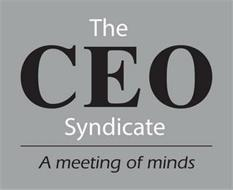 THE CEO SYNDICATE A MEETING OF MINDS