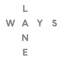 LANE WAYS