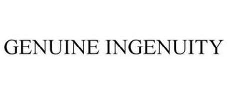 GENUINE INGENUITY