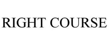 RIGHT COURSE