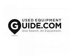 USED EQUIPMENT GUIDE.COM ONE SEARCH. ALL EQUIPMENT.