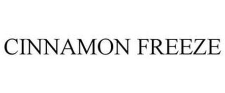 CINNAMON FREEZE