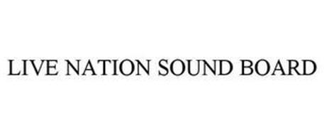 LIVE NATION SOUND BOARD