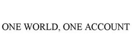 ONE WORLD, ONE ACCOUNT