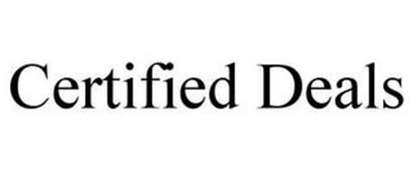 CERTIFIED DEALS