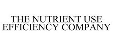 THE NUTRIENT USE EFFICIENCY COMPANY