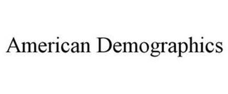 AMERICAN DEMOGRAPHICS