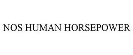 NOS HUMAN HORSEPOWER