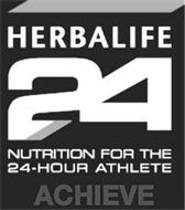 HERBALIFE 24 NUTRITION FOR THE 24-HOUR ATHLETE ACHIEVE