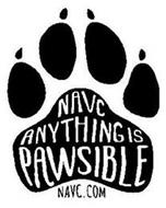 NAVC ANYTHING IS PAWSIBLE NAVC.COM