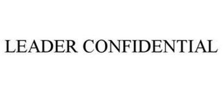 LEADER CONFIDENTIAL