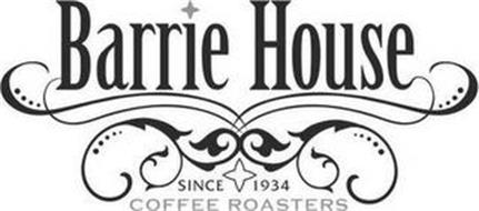BARRIE HOUSE SINCE 1934 COFFEE ROASTERS