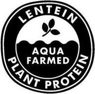 LENTEIN AQUA FARMED PLANT PROTEIN