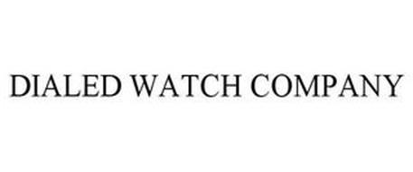 DIALED WATCH COMPANY
