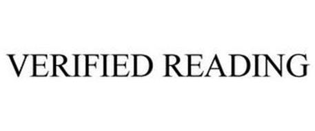 VERIFIED READING