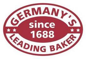 GERMANY'S LEADING BAKERY SINCE 1688