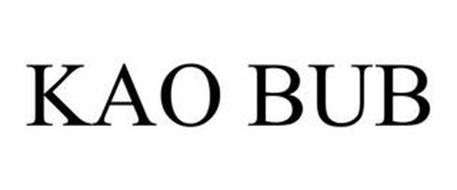 KAO BUB