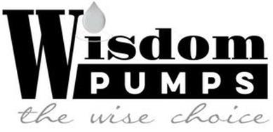 WISDOM PUMPS THE WISE CHOICE