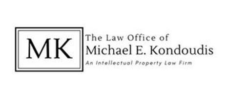 MK THE LAW OFFICE OF MICHAEL E. KONDOUDIS, AN INTELLECTUAL PROPERTY FIRM